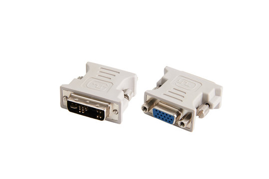 RGB to DVI adapter