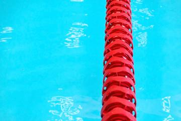 Empty professional swimming pool.