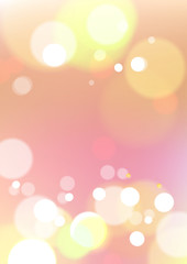 Abstract bokeh light pink background
