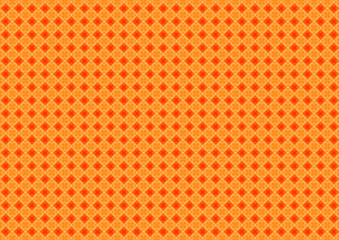 Abstract geometric shapes pattern orange background