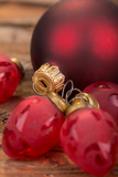 Frohe weihnachten stock photo and royalty free images on pic 162613318 - Blaue christbaumkugeln ...