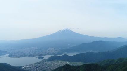 Wall Mural - 富士山 ドローン撮影