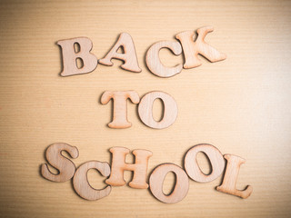 Back To School Education Motivational Words Quotes Concept