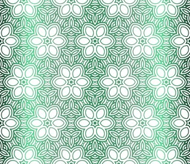 Vector Illustration. Pattern With Floral Ornament, Decorative Border. Design For Print Fabric. Paper For Scrapbook.
