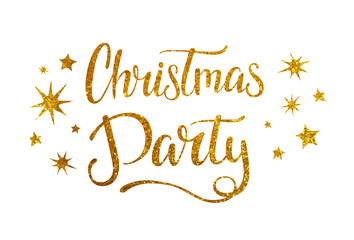 Christmas party banner