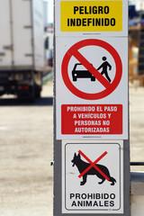 Prohibido - Verboten I