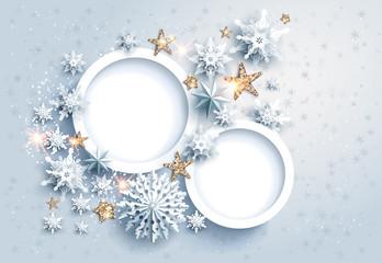 Fotomurales - Winter holidau frames