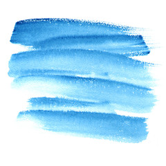 Printed roller blinds Fantasy Landscape Abstract watercolor brush strokes painted background. Paper texture.