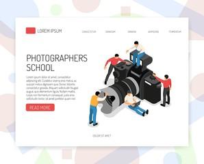 Photographer Concept Isometric