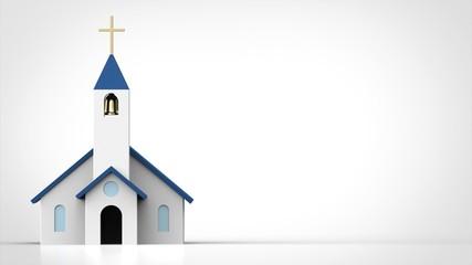 教会 正面 左