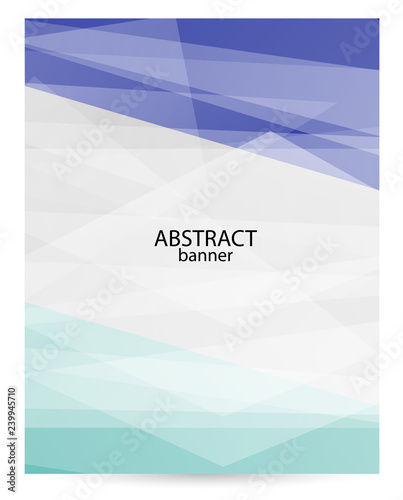 Vertical bright poster with empty place for text  Abstract graphic