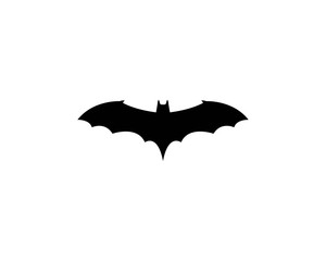 Bat icon for web. Isolated on white background. - Vector