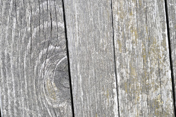 Background of wooden boards, located with slope, of faded wood texture. Organic texture