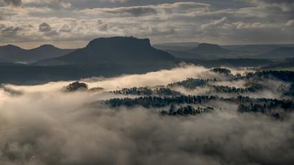 The disappeared valley - Das verschwundene Tal