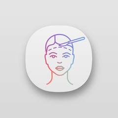 Facelift surgery app icon