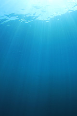Underwater blue background
