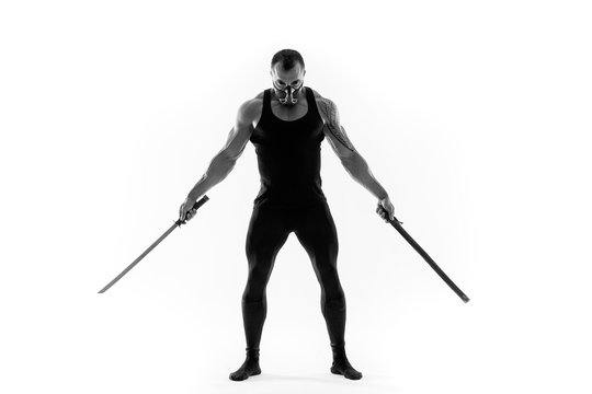 Mortal Kombat.  samurai sword. Katana. Japanese ninja