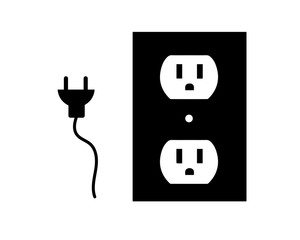 Icon-Electrical Plug & Outlet