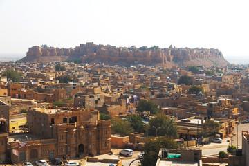 Jaisalmer city in Rajasthan state, India