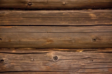 Wood texture background old panels. many fibers, branches.