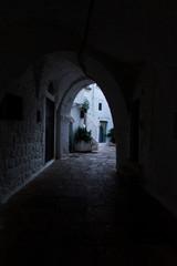Printed roller blinds Narrow alley Cisternino (Brindisi, Puglia)