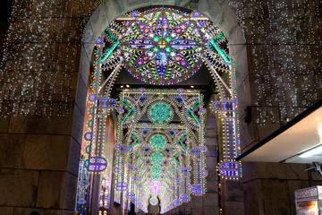 Luci di Natale in Duomo Rinascente