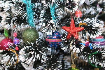 Fototapeta Christmas decorations.Merry Christmas obraz