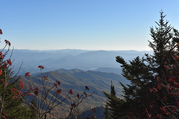 Dawn and Dusk in Smoky Mountains