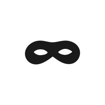 mask. Simple vector robber.
