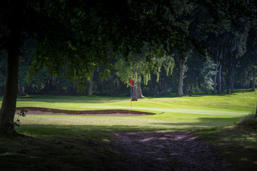Scenic view of a Golf Green and Fairway