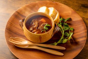 ビーフシチュー Home-made beef stew