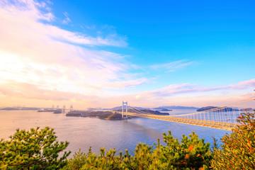 鷲羽山第二展望台の風景
