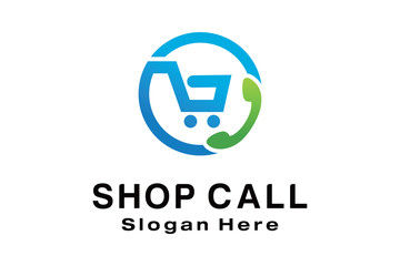 SHOP CALL LOGO DESIGN
