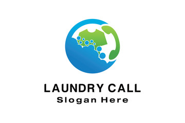 LAUNDRY CALL LOGO DESIGN