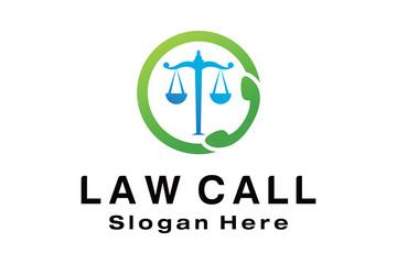 LAW CALL LOGO DESIGN