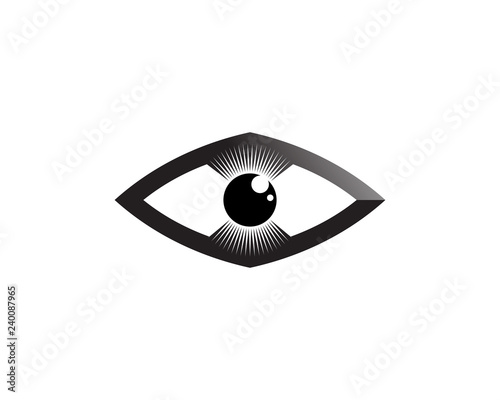 The Eye of Horus (Eye of Ra, Wadjet) believed by ancient
