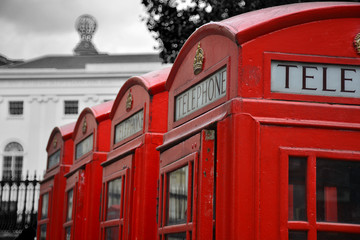 Red Telephones in London