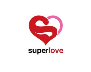 super love heart