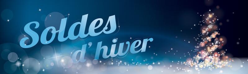 BANNIÈRE SOLDES D'HIVER