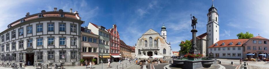 Lindau Bodensee Marktplatz Panorama