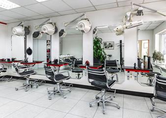 Raum im Friseursalon