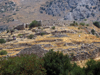 Europe, Greece,Mycenae, it is difficult to overestimate  the contribution that has made this place in the  development of human civilization.