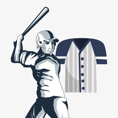 baseball related icons image