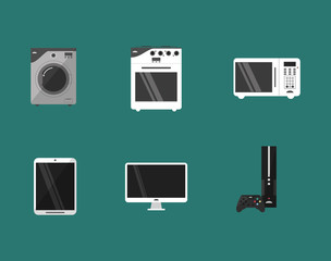 home electronic appliances image