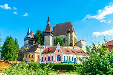 Wall Mural - Fortified church of Biertan, Transylvania, Romania