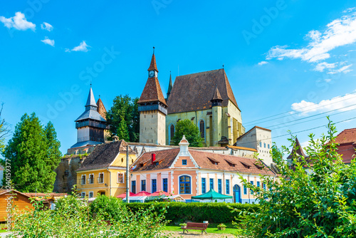 Wall mural Fortified church of Biertan, Transylvania, Romania
