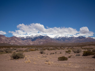 Andes mountaines in Mendoza, Argentina