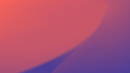 Abstract gradient from ultraviolet - colors of 2018 to the color of living coral - color of the Year 2019.