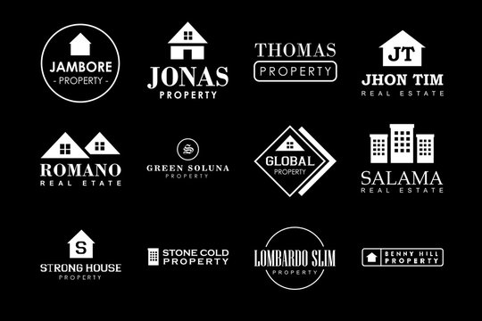 Property Badge and Logo, vector design good for print