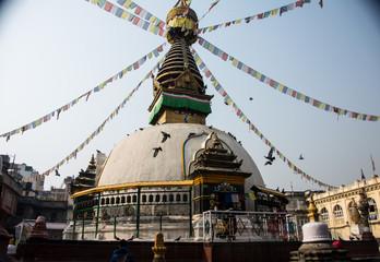 stupa in Khatmandu